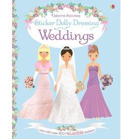 EDC PUBLISHING STICKER DOLLY DRESSING WEDDINGS