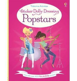 EDC PUBLISHING STICKER DOLLY DRESSING POPSTARS