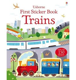 EDC PUBLISHING TRAINS FIRST STICKER BOOK USBORNE
