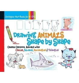 STERLING PUBLISHING DRAWING ANIMALS SHAPE BY SHAPE