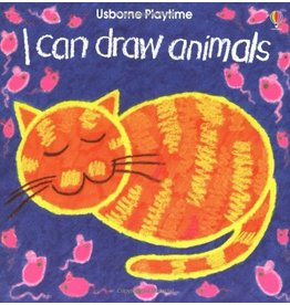 EDC PUBLISHING I CAN DRAW ANIMALS PB USBORNE