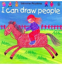 EDC PUBLISHING I CAN DRAW PEOPLE PB USBORNE