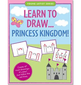 PETER PAUPER LEARN TO DRAW PRINCESS KINGDOM!