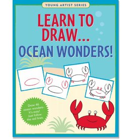 PETER PAUPER LEARN TO DRAW OCEAN WONDERS!