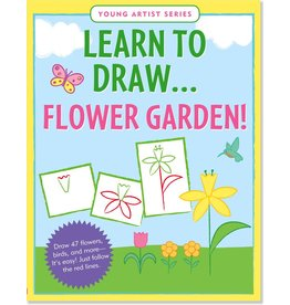 PETER PAUPER LEARN TO DRAW FLOWER GARDEN!