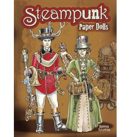 DOVER PUBLICATIONS STEAMPUNK PAPER DOLLS