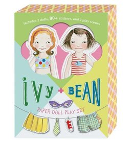CHRONICLE PUBLISHING IVY + BEAN PAPER DOLL PLAY SET BARROWS*