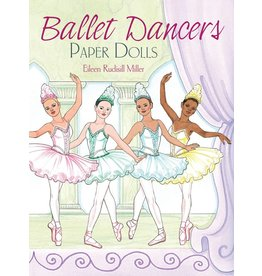 DOVER PUBLICATIONS BALLET DANCERS PAPER DOLLS