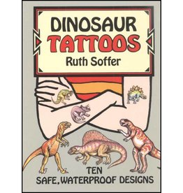 DOVER PUBLICATIONS DINOSAUR TATTOOS (LAB)