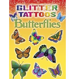 DOVER PUBLICATIONS GLITTER TATTOOS BUTTERFLIES (LAB)