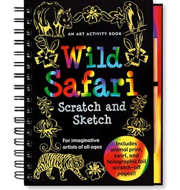 PETER PAUPER WILD SAFARI SCRATCH & SKETCH