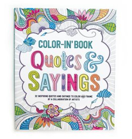 OOLY QUOTES & SAYINGS COLOR-IN' BOOK