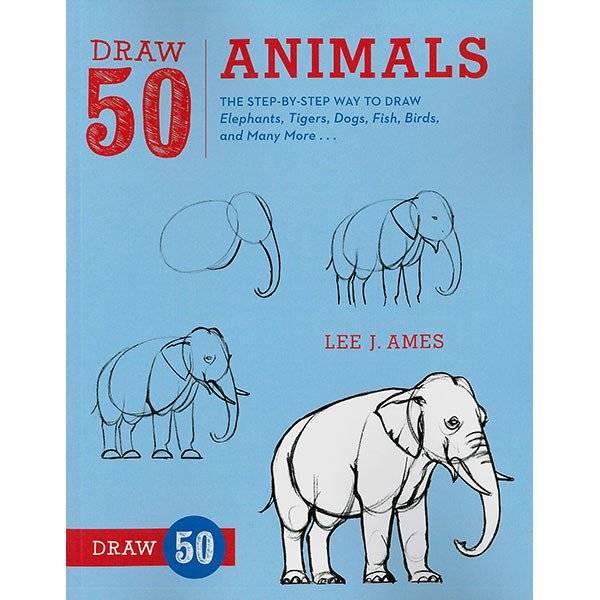 RANDOM HOUSE DRAW 50 ANIMALS