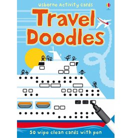EDC PUBLISHING TRAVEL DOODLES ACTIVITY CARDS