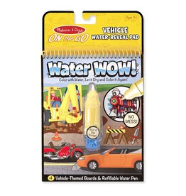 MELISSA AND DOUG WATER WOW! VEHICLES