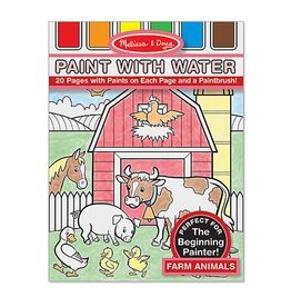 MELISSA AND DOUG PAINT WITH WATER FARM ANIMALS