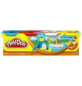 HASBRO EVEREST PLAY DOH CLASSIC COLORS 4 PACK