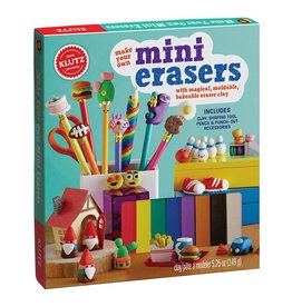 KLUTZ MAKE YOUR OWN MINI ERASERS KLUTZ