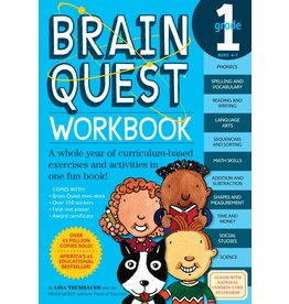 WORKMAN PUBLISHING BRAIN QUEST WORKBOOK GRADE 1