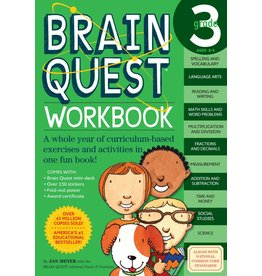 WORKMAN PUBLISHING BRAIN QUEST WORKBOOK GRADE 3
