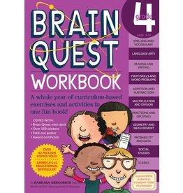 WORKMAN PUBLISHING BRAIN QUEST WORKBOOK GRADE 4