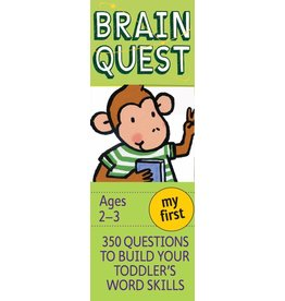 WORKMAN PUBLISHING BRAIN QUEST CARDS MY FIRST