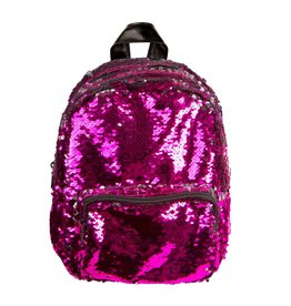 FASHION ANGELS MAGIC SEQUIN MINI BACKPACK PINK / SILVER