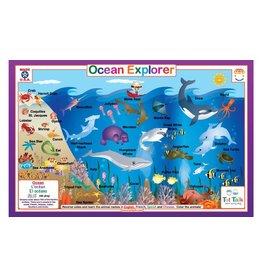 TOT TALK OCEAN EXPLORER PLACEMAT