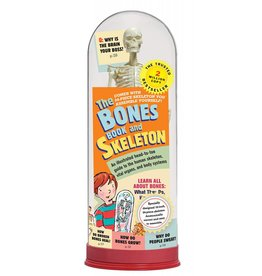 WORKMAN PUBLISHING BONES BOOK AND SKELETON PB CUMBAA