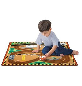 MELISSA AND DOUG CONSTRUCTION ZONE RUG M & D