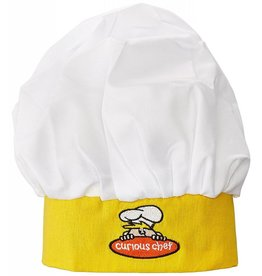 CURIOUS CHEF CHILDS CHEF HAT