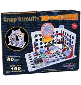 ELENCO ELECTRONICS SNAP CIRCUITS 3D ILLUMINATOR