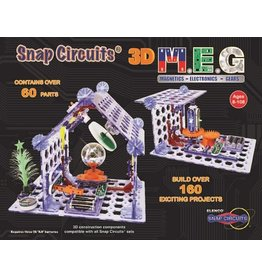 ELENCO ELECTRONICS SNAP CIRCUITS 3D MEG