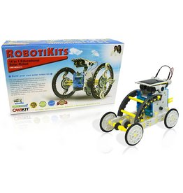 ELENCO ELECTRONICS 14 IN 1 EDUCATIONAL SOLAR ROBOT KIT