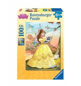 RAVENSBURGER USA BELLE READS A FAIRY TALE 100 PC PUZZLE*