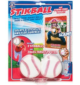 HOG WILD STIKBALL WITH TARGET