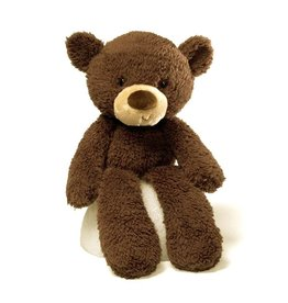 GUND FUZZY CHOCOLATE BEAR