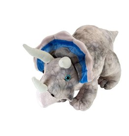 WILD REPUBLIC TRICERATOPS STUFFED