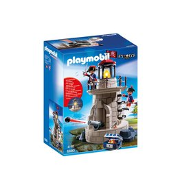 PLAYMOBIL SOLDIERS LOOKOUT WITH BEACON**