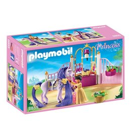 PLAYMOBIL CASTLE STABLE*