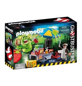 PLAYMOBIL SLIMER WITH HOTDOG STAND GHOSTBUSTERS