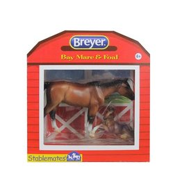 REEVES STABLEMATES HORSE AND FOAL SET