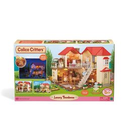 CALICO CRITTERS LUXURY TOWNHOME CALICO CRITTERS
