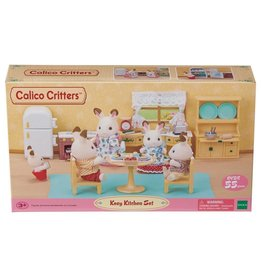 CALICO CRITTERS KOZY KITCHEN SET CALICO CRITTERS