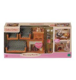 EPOCH EVERLASTING PLAY DELUXE LIVING ROOM SET CALICO CRITTERS