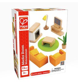 HAPE DOLLHOUSE MEDIA ROOM