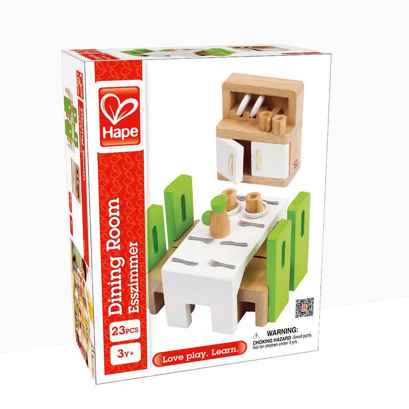 HAPE DOLLHOUSE DINING ROOM