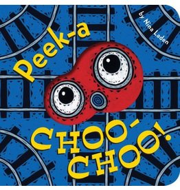 CHRONICLE PUBLISHING PEEK-A CHOO-CHOO BB LADEN