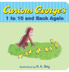 HOUGHTON MIFFLIN CURIOUS GEORGE 1 TO 10 AND BACK AGAIN BB REY