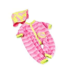 "MADAME ALEXANDER PINK TURTLE ONESIE 19"" DOLL CLOTHES"